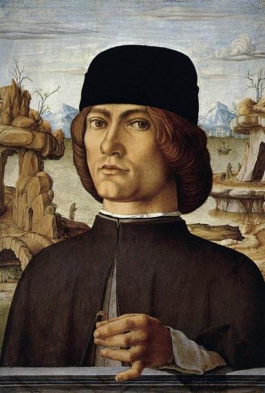 Francesco del Cossa, Ritratto maschile (1472-1477), Museo Thyssen-Bornemisza, Madrid