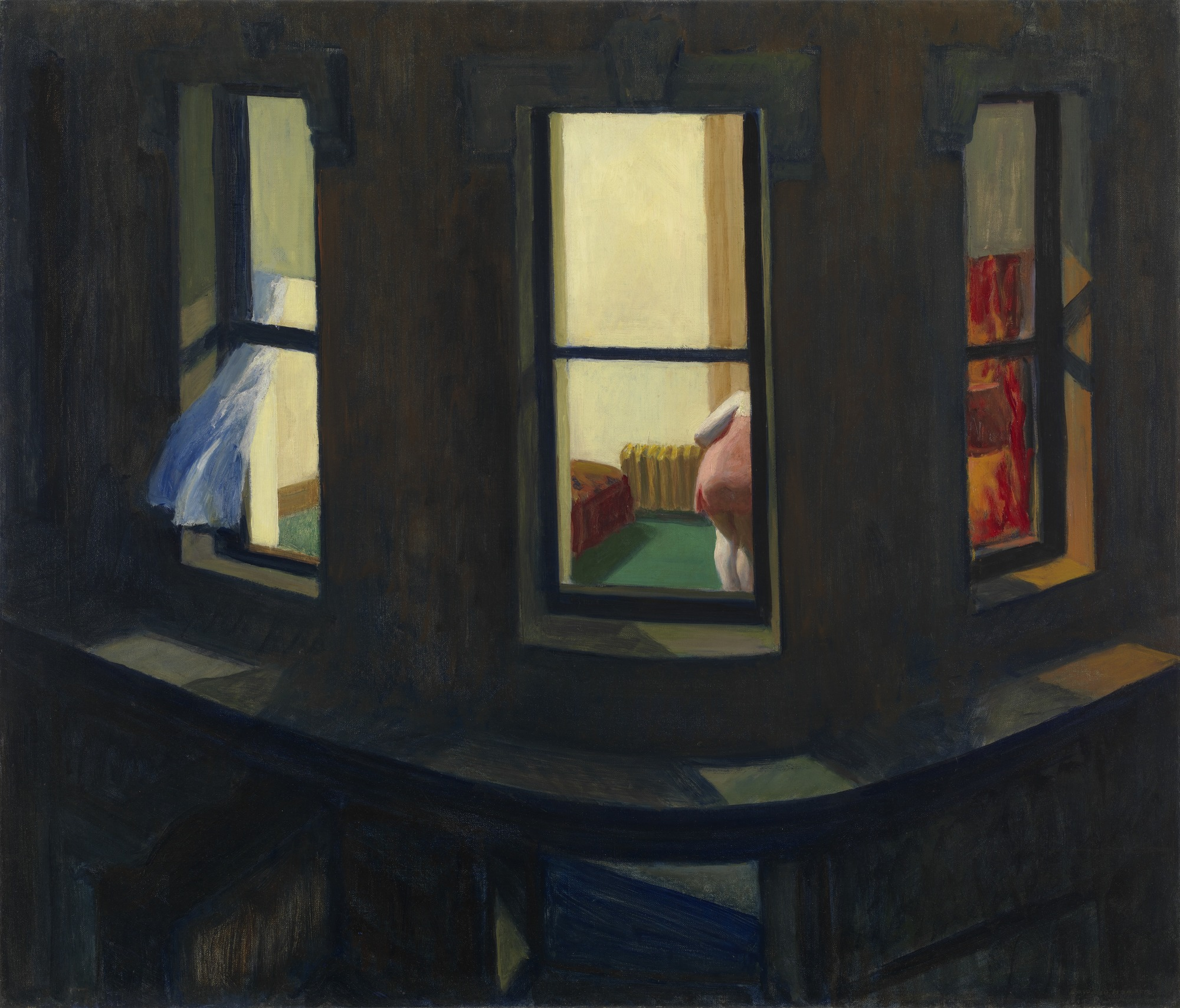 Edward Hopper, Night Windows (1928)