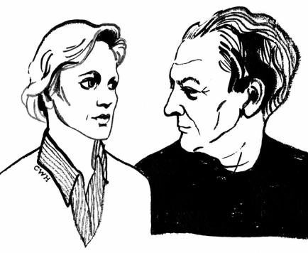 Siri Hustvedt e Paul Auster, W.H. Chong