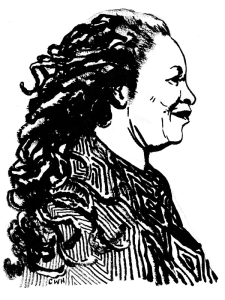 Toni Morrison, W.H. Chong